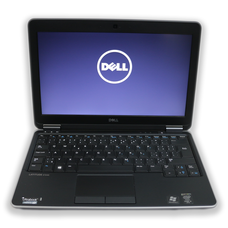 "Notebook Dell Latitude E7240 Intel Core i5 4200U 1,6 GHz, 4 GB RAM, 128 GB SSD, Intel HD, bez mech., 12,5"" 1366x768, el. klíč Windows 10 PRO"