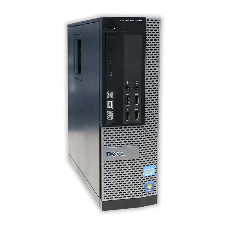 Počítač Dell OptiPlex 7010 SFF Intel Celeron G465 1,9 Ghz, 4 GB RAM, 250 GB HDD, Intel HD, DVD-ROM, COA štítek Windows 7 PRO