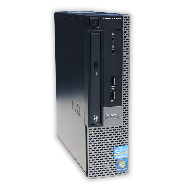 Počítač Dell OptiPlex 990 USFF Intel Core i5 2500S 2,7 GHz, 4 GB RAM, 250 GB HDD, Intel HD, DVD-RW, COA štítek Windows 7 PRO