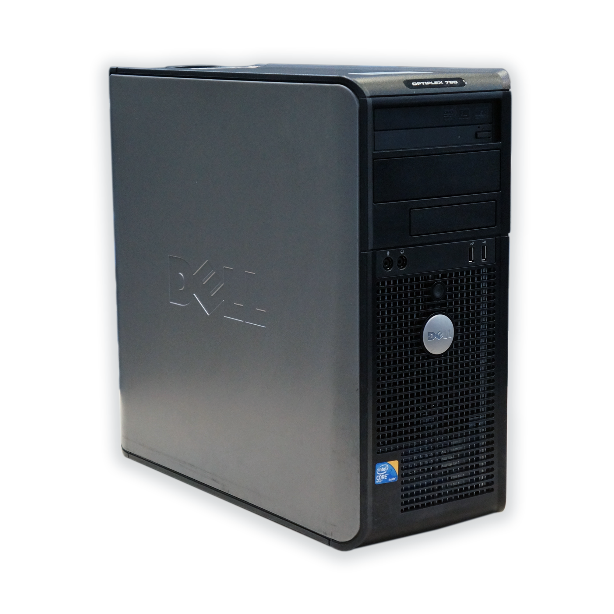 Počítač Dell OptiPlex 780 tower Intel Core 2 Duo E8400 3,0 GHz, 4 GB RAM, 160 GB HDD, Intel GMA, DVD-RW, COA štítek Windows 7 PRO