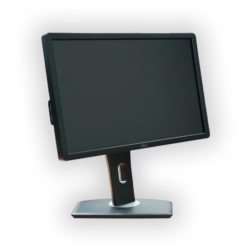 "LCD monitor 22"" Dell Professional P2210, 1680x1050, 16:10, VGA, DVI-D, DPort, kabeláž"