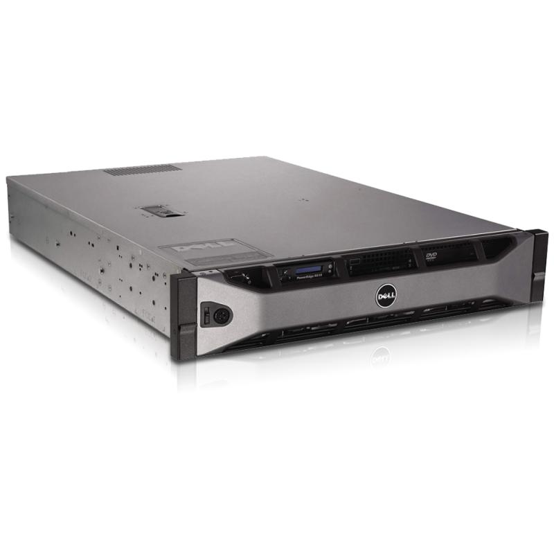Server Dell PowerEdge R510 2U, 2x Intel Quad Core Xeon E5620 2,4 GHz, 16 GB RAM, bez HDD, rámečků, mechaniky a čelního panelu
