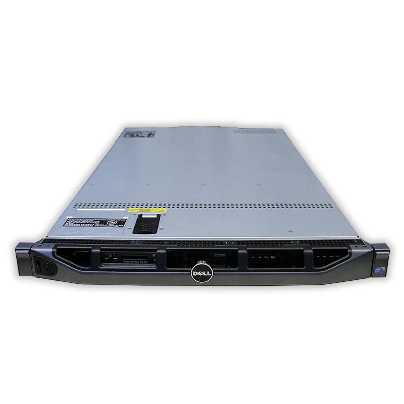 Server Dell PowerEdge R610 1U, Intel Quad Core Xeon E5620 2,4 GHz, 16 GB RAM, bez HDD, rámečků, mechaniky a čelního panelu