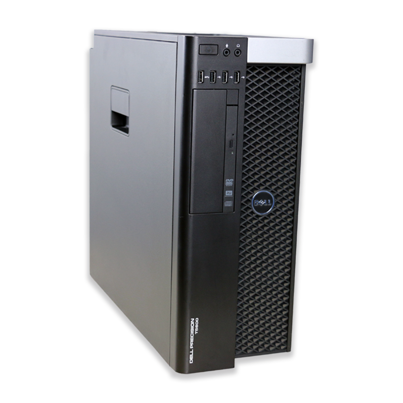 Počítač Dell Precision T5600 tower Intel Xeon Hexa Core E5-2630 2,3 GHz, 32 GB RAM, 250 GB HDD, Quadro 4000, DVD-RW, COA štítek Windows 7 PRO