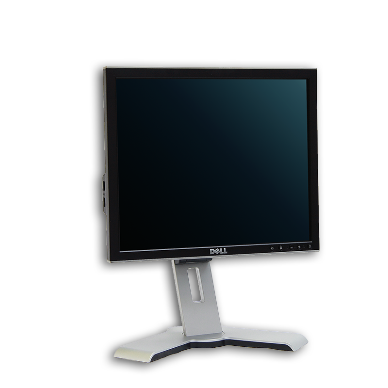 "LCD monitor 17"" Dell UltraSharp 1708FP, 1280x1024, 4:3, VGA, DVI-D, kabeláž"