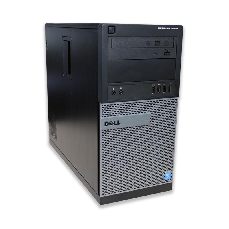 Počítač Dell OptiPlex 9020 tower Intel Core i7 4770 3,4 Ghz, 4 GB RAM, 256 GB SSD, Intel HD, DVD-RW, el. klíč Windows 10 PRO