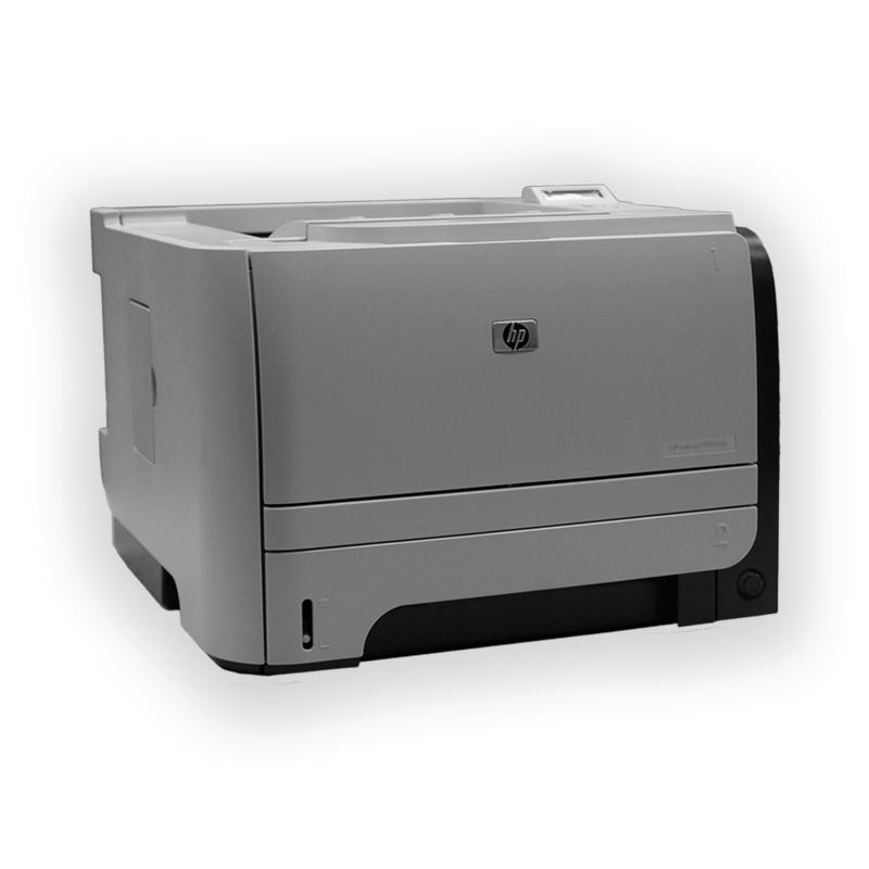 Tiskárna HP LaserJet P2055DN, automatický duplex, síťová karta, použitý toner, kabeláž