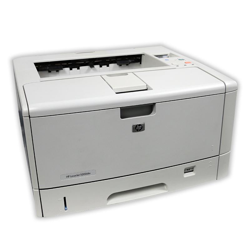Tiskárna HP LaserJet 5200DN A3, automatický duplex, síťová karta, použitý toner, kabeláž
