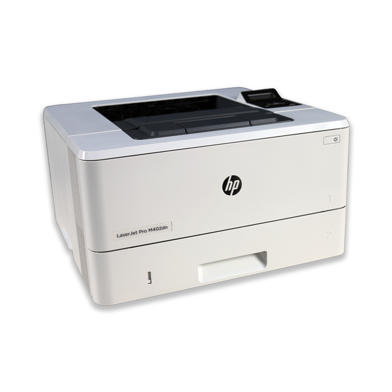 Tiskárna HP LaserJet Pro M402DN, automatický duplex, síťová karta, použitý toner, kabeláž