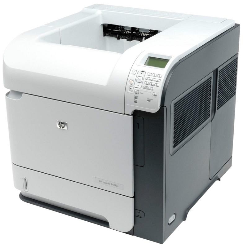 Tiskárna HP LaserJet P4015DN, automatický duplex, síťová karta, použitý toner, kabeláž