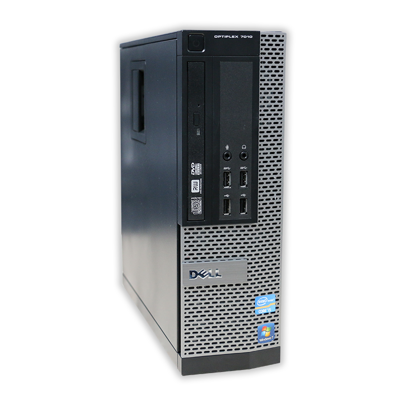 Dell OptiPlex 7010 SFF Intel Core i5 3570 3,4 GHz, 4 GB RAM, 500 GB HDD, Intel HD, DVD-RW, COA štítok Windows 7 PRO