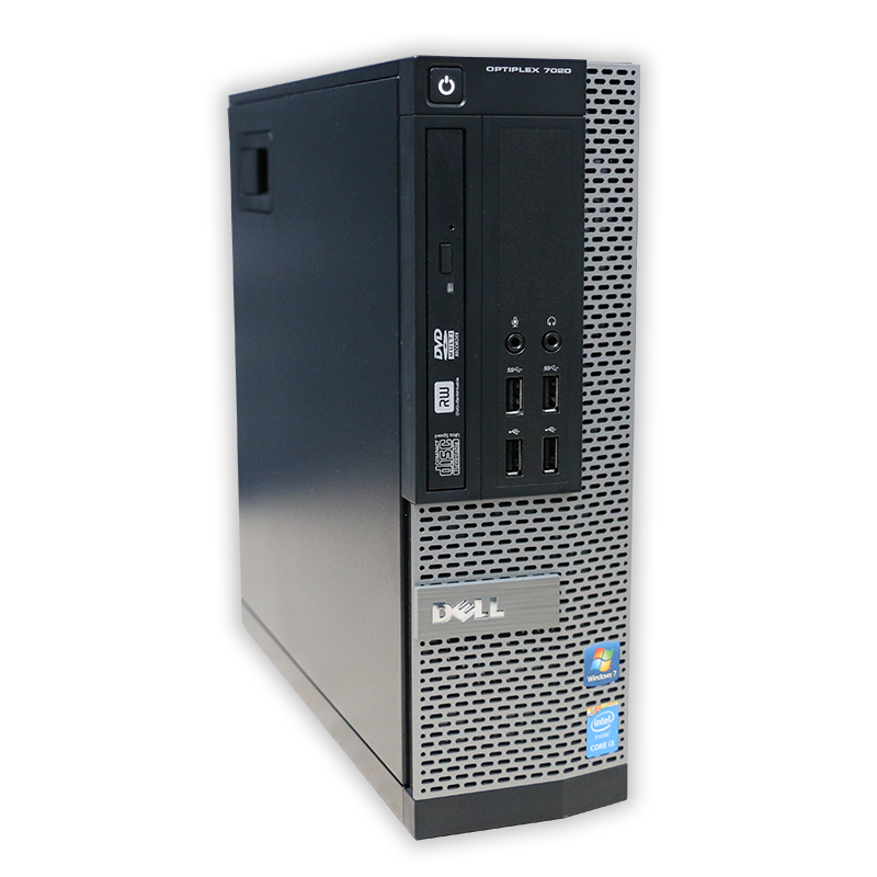 Počítač Dell OptiPlex 7020 SFF Intel Pentium G3240 3,1 Ghz, 4 GB RAM, 500 GB HDD, Intel HD, DVD-ROM, el. klíč Windows 10 PRO