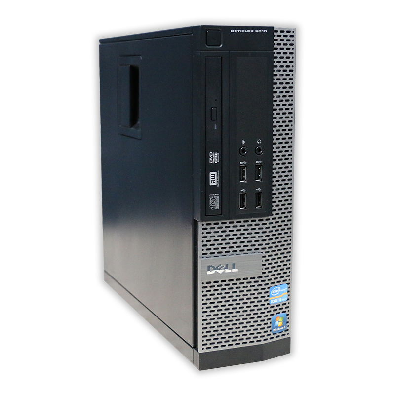 Počítač Dell OptiPlex 9010 SFF Intel Core i7 3770 3,4 Ghz, 8 GB RAM, 256 GB SSD, Intel HD, bez mech., COA štítek Windows 7 PRO
