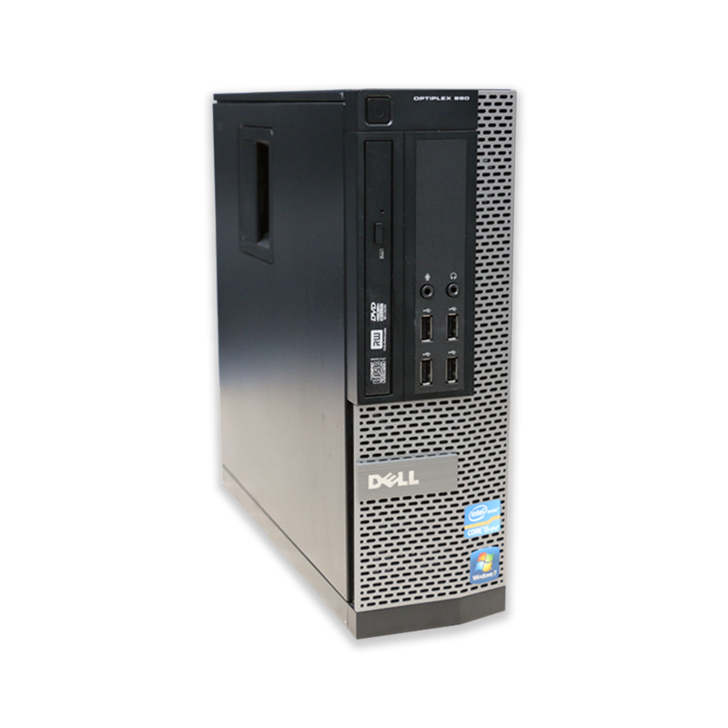 Počítač Dell OptiPlex 990 SFF Intel Core i5 2400 3,1 GHz, 4 GB RAM, 250 GB HDD, Intel HD, DVD-RW, COA štítek Windows 7 PRO