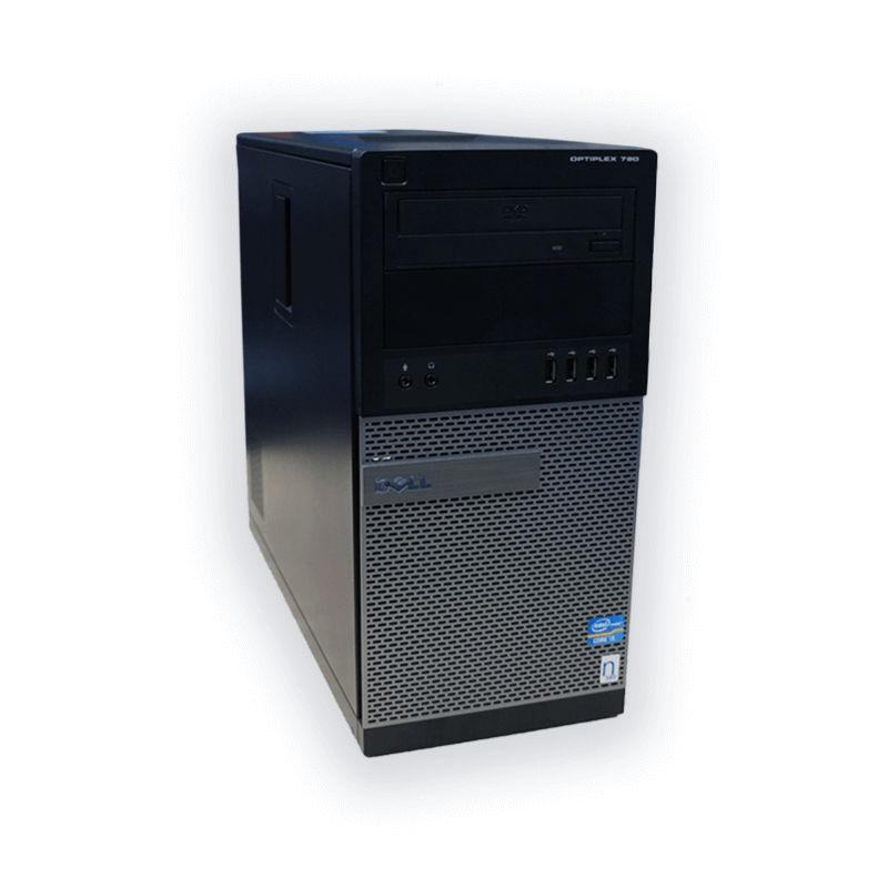 Dell OptiPlex 790 tower Intel Core i5 2400 3,1 GHz, 4 GB RAM, 320 GB HDD, Intel HD, DVD-RW, COA štítok Windows 7 PRO