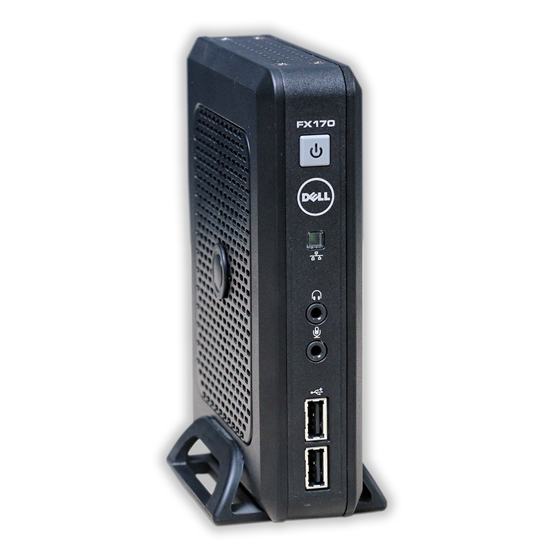 Počítač DELL OptiPlex FX170 Thin Client Intel Atom n270 1,6 GHz, 2 GB RAM DDR2, 4 GB Flash Storage, Windows Embedded Standard 7