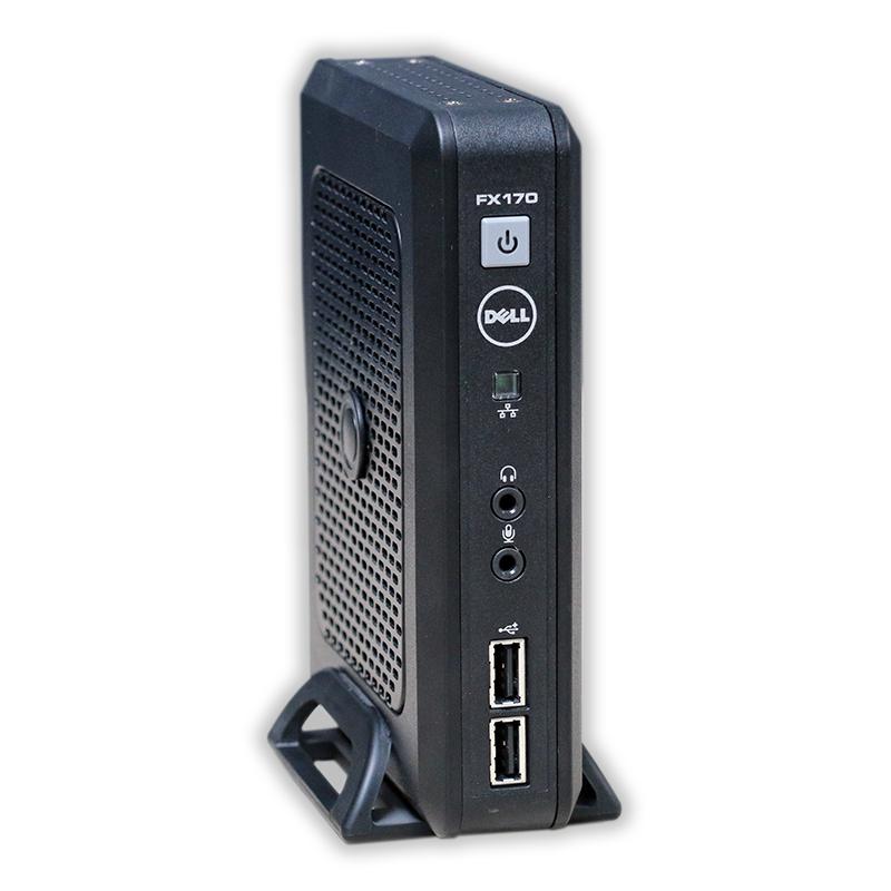 Dell OptiPlex FX170 Thin Client Intel Atom n270 1,6 GHz, 2 GB RAM DDR2, 4 GB Flash Storage, bez operačného systému