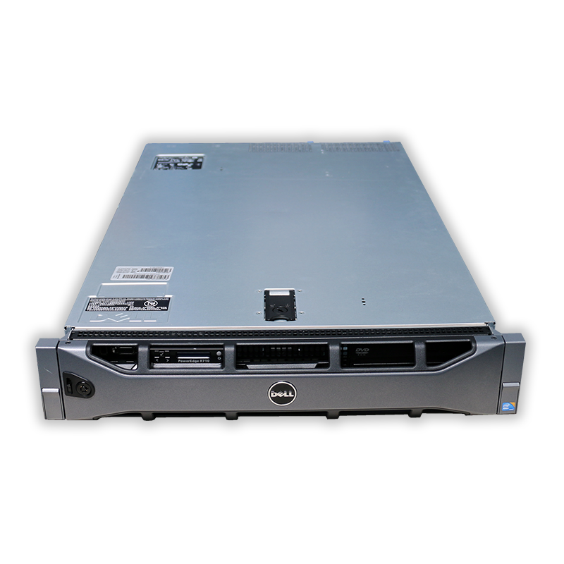 Server Dell PowerEdge R710 2U, 2x Intel Hexa Core Xeon E5645 2,4 GHz, 8 GB RAM, bez HDD, rámečků, mechaniky a čelního panelu