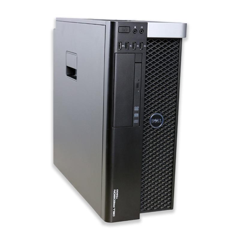 Dell Precision T5600 tower Intel Xeon Octa Core E5-2650 2,0 GHz, 32 GB RAM, 500 GB HDD, Quadro 4000, DVD-RW, COA štítok Windows 7 PRO