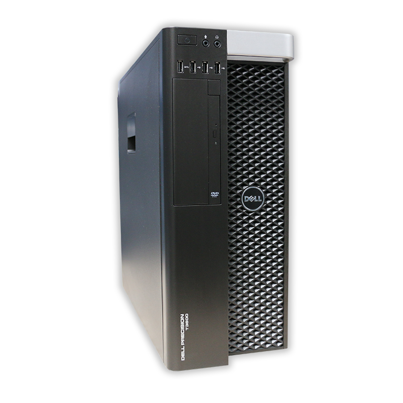 Dell Precision T3600 tower Intel Xeon Octa Core E5-2680 2,7 GHz, 16 GB RAM, 250 GB HDD, Quadro 2000, bez mech., COA štítok Windows 7 PRO