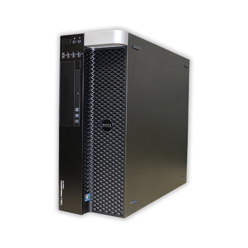 Dell Precision T5610 tower 2x Intel Xeon Hexa Core E5-2620 2,0 GHz, 16 GB RAM, 500 GB HDD, Quadro K2000, DVD-ROM, COA štítok Windows 7 PRO