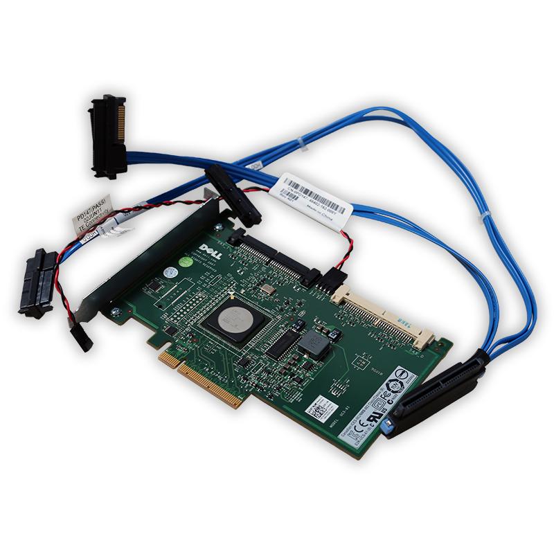 Interní řadič SAS disků Dell 6/iR s kabelem