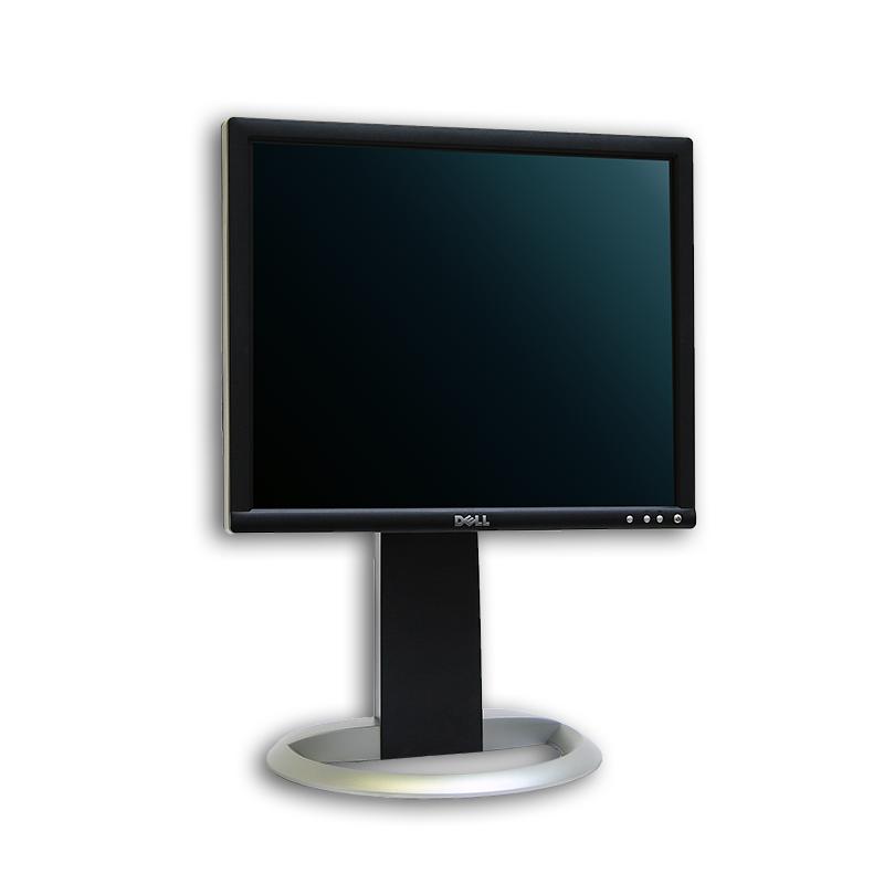 "LCD monitor 19"" Dell UltraSharp 1905FP, 1280x1024, 5:4, VGA, DVI-D, kabeláž"