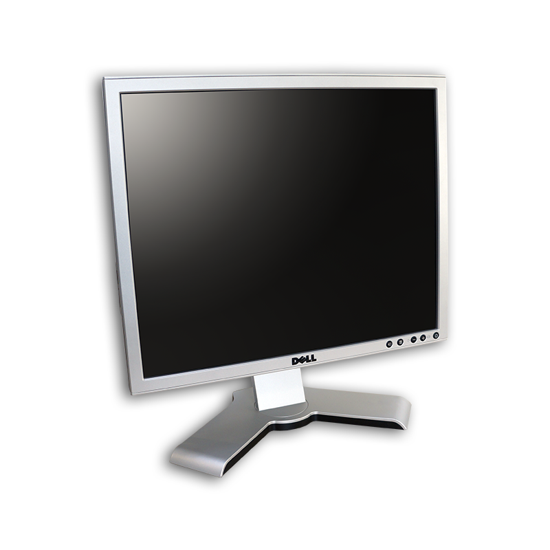 "LCD monitor 19"" Dell UltraSharp 1908FP, 1280x1024, 5:4, VGA, DVI-D, kabeláž"