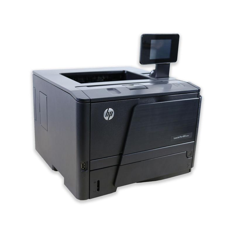 Tlačiareň HP LaserJet Pro 400 M401DN, automatický duplex, sieťová karta, použitý toner, kabeláž