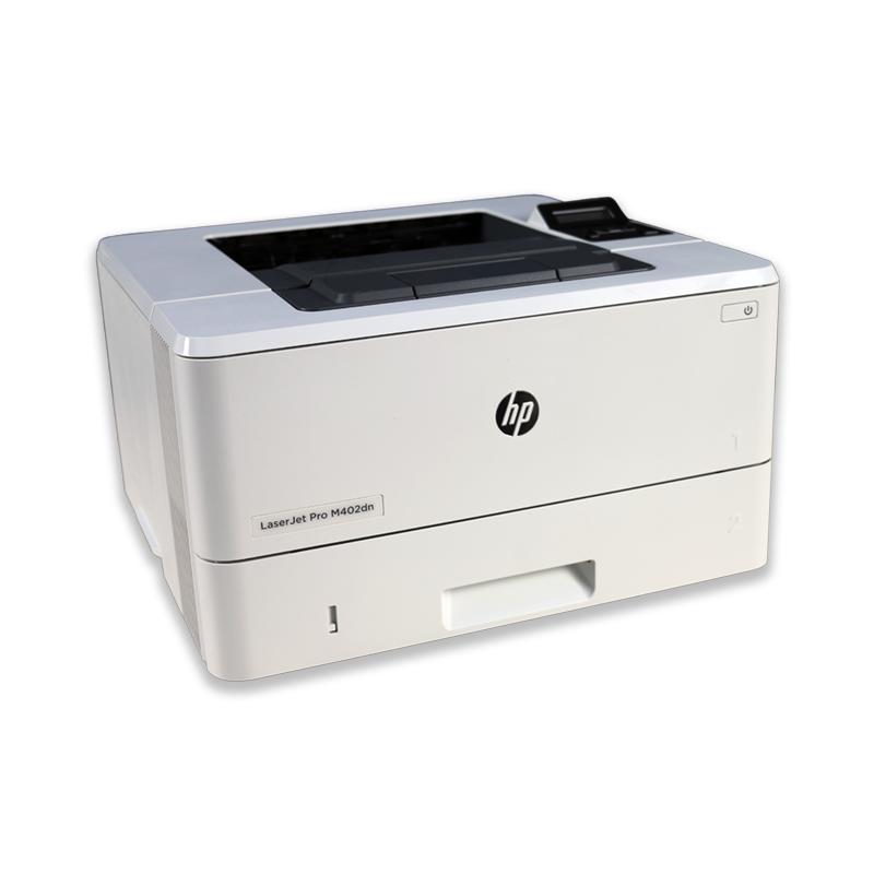 Tlačiareň HP LaserJet Pro M402DNE, automatický duplex, sieťová karta, použitý toner, kabeláž
