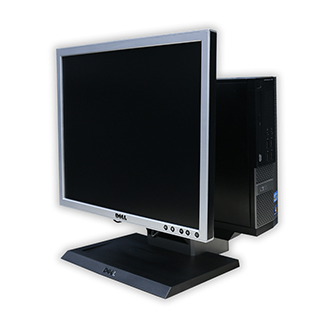 Počítač Dell OptiPlex AIO 790 + LCD monitor Dell 1908FP