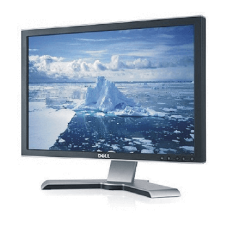 "LCD monitor 24"" Dell UltraSharp 2407WFP"