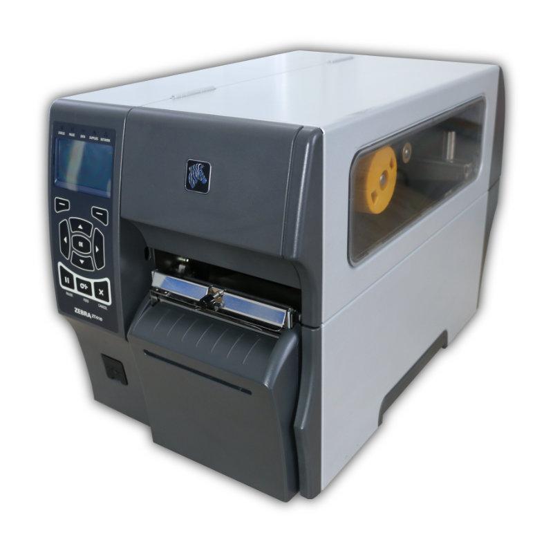 Tlačiareň etikiet Zebra ZT410, termálna a termotransferová tlač, 203 dpi, USB, RS232, LAN, rezačka, kabeláž