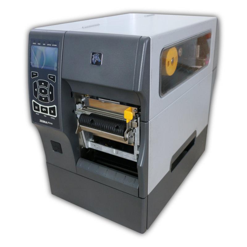 Tlačiareň etikiet Zebra ZT410, termálna a termotransferová tlač, 203 dpi, USB, RS232, LAN, label peeler, kabeláž