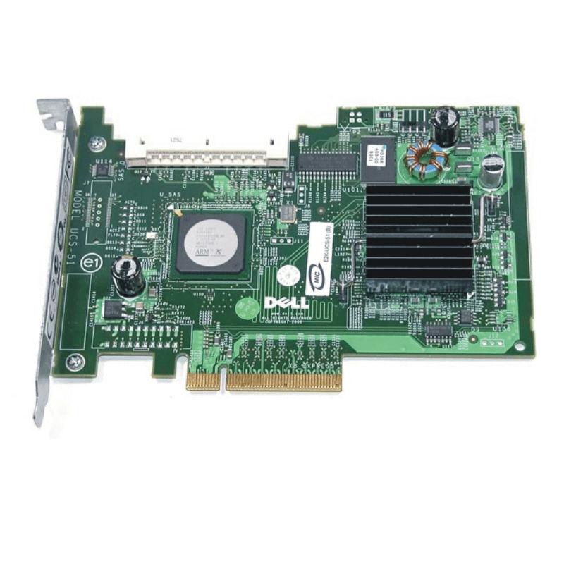 Interní řadič SAS disků Dell 5/iR s kabelem