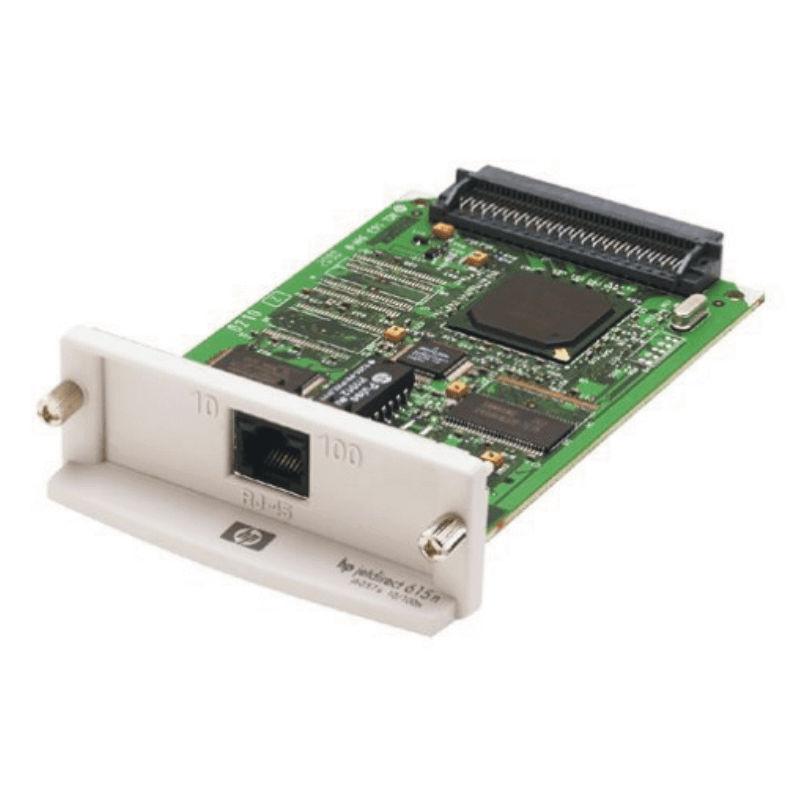 Repasovaná síťová karta HP JetDirect 615n se zárukou skladem.