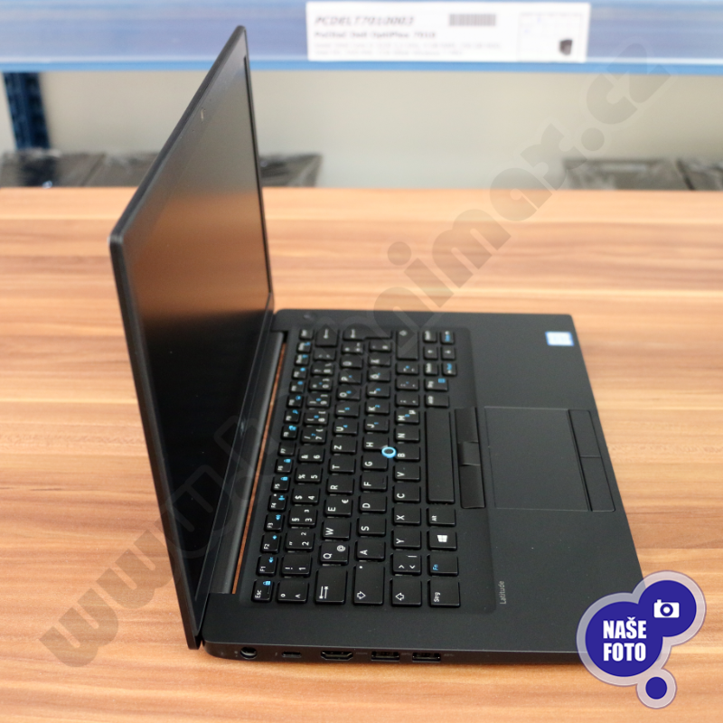 "Intel Core i7 7600U 2,8 GHz, 16 GB RAM DDR4, 256 GB SSD, Intel HD, bez mech., 14"" 1920x1080, el. klíč Windows 10 PRO (5)"