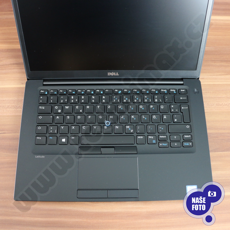 "Intel Core i7 7600U 2,8 GHz, 16 GB RAM DDR4, 256 GB SSD, Intel HD, bez mech., 14"" 1920x1080, el. klíč Windows 10 PRO (9)"