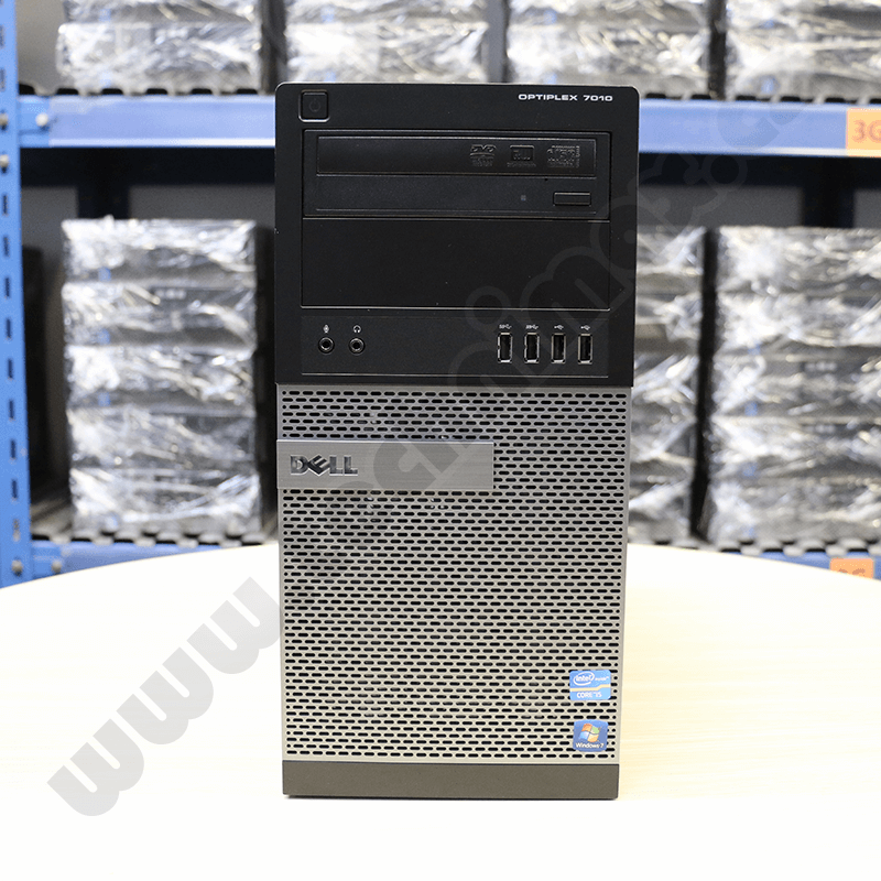 tower Intel Core i3 3245 3,4 GHz, 4 GB RAM, 250 GB HDD, Intel HD, bez mech., COA štítek Windows 7 PRO (2)