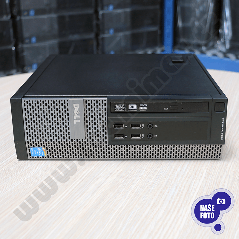 SFF Intel Core i5 4590 3,3 GHz, 4 GB RAM, 500 GB HDD, Intel HD, DVD-ROM, COA štítek Windows 7 PRO (10)
