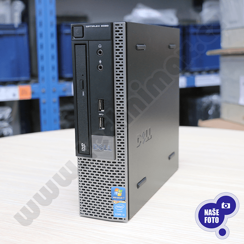Počítač Dell OptiPlex 9020 USFF Intel Core i5 4570S 2,9 GHz, 4 GB