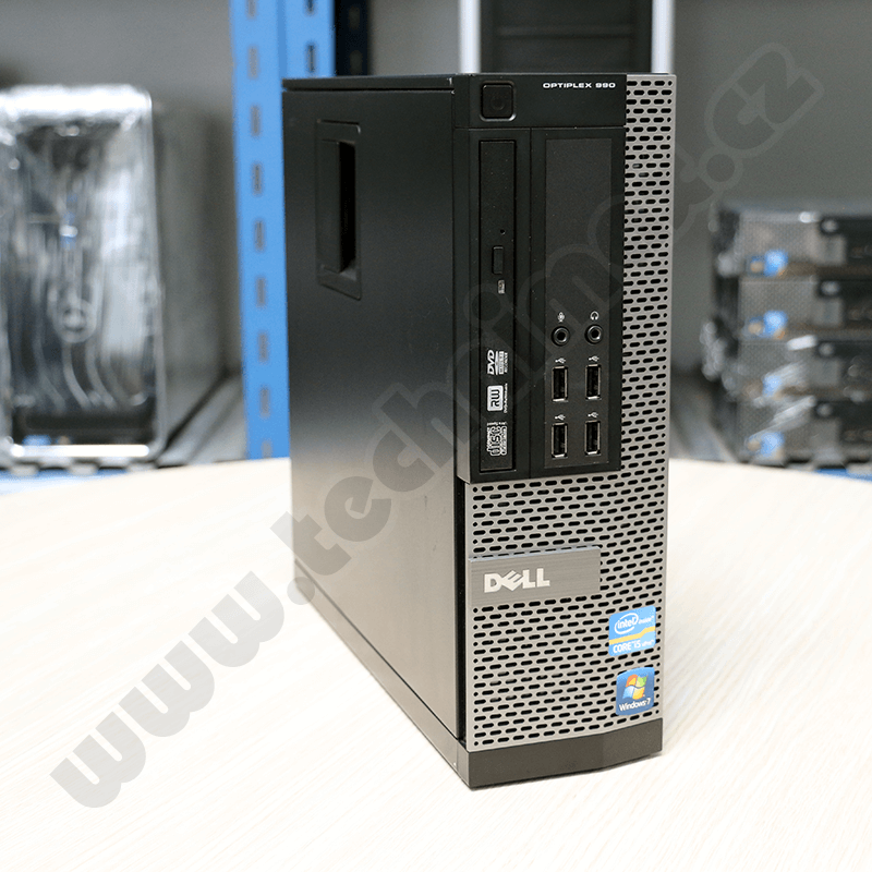 SFF Intel Core i5 2500 3,3 GHz, 4 GB RAM, 250 GB HDD, Intel HD, DVD-ROM, COA štítek Windows 7 PRO (6)