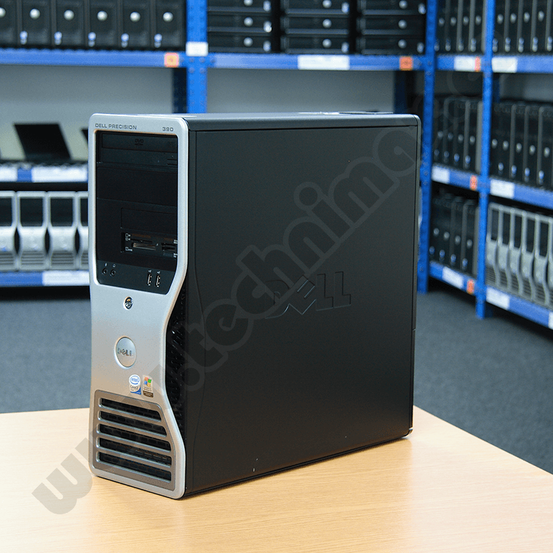 tower Intel Core 2 Duo 1,8 GHz, 2 GB RAM DDR2, 40 GB HDD SATA, DVD-ROM, COA štítek Windows XP PRO (20)