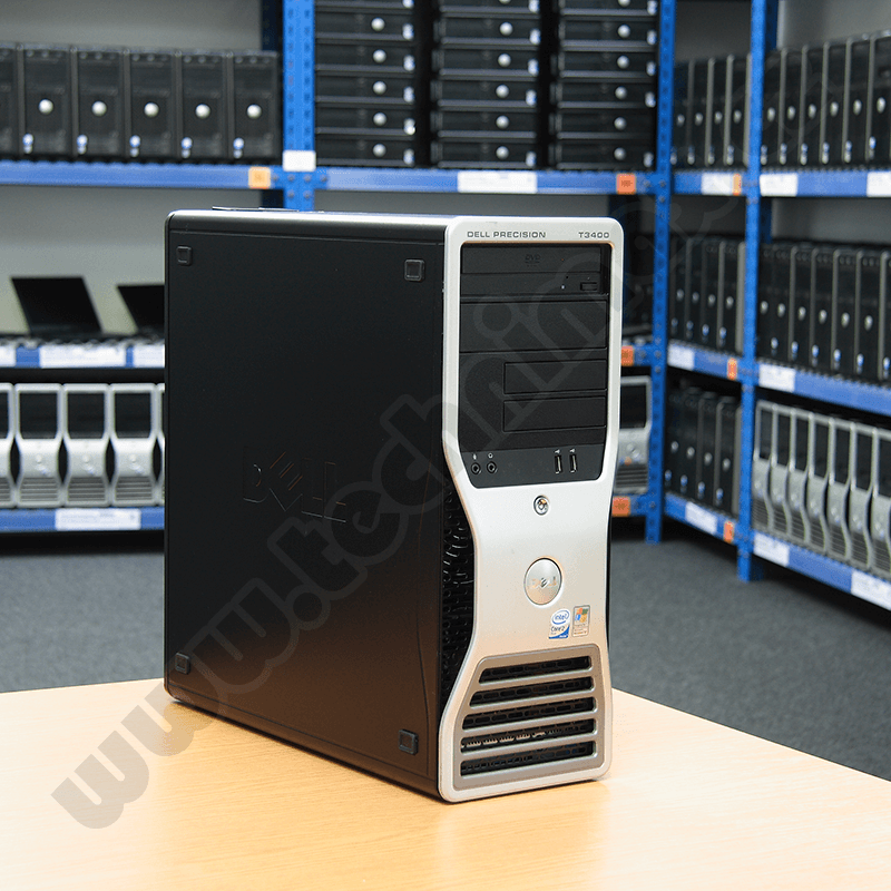 tower Intel Core 2 Quad Q6600 - 3,00 GHz, 4 GB RAM DDR2, 160 GB HDD SATA, DVD-RW, COA štítek Windows Vista Bus. (4)