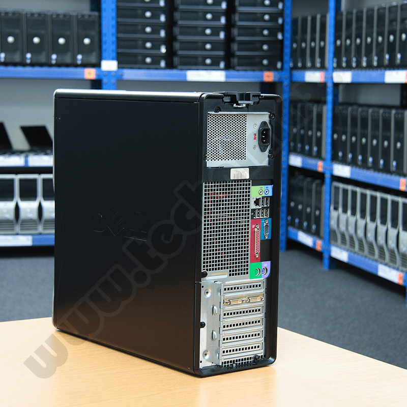 tower Intel Core 2 Quad Q6600 - 3,00 GHz, 4 GB RAM DDR2, 160 GB HDD SATA, DVD-RW, COA štítek Windows Vista Bus. (5)
