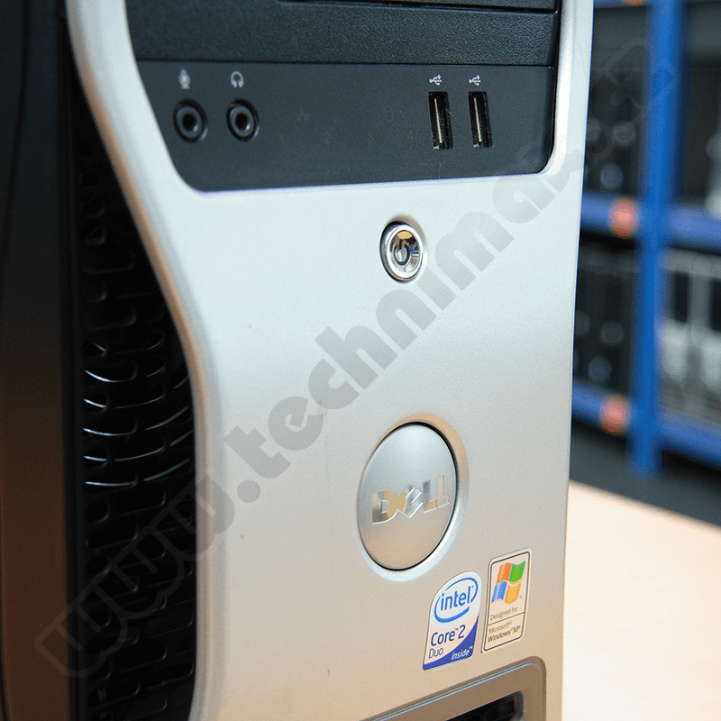 tower Intel Core 2 Duo E4400 - 2,0 GHz, 2 GB RAM DDR2, 250 GB HDD SATA, DVD-RW, COA štítek Windows XP PRO (22)