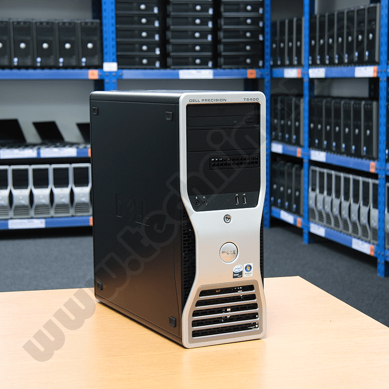 tower Intel XEON Quad E5440 2,83 GHz, 8 GB RAM, 320 GB HDD SATA, DVD-ROM, COA štítek Windows Vista Business (20)