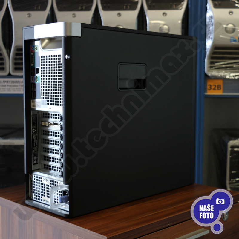 tower Intel Xeon Hexa Core E5-1650 v3 3,5 GHz, 16 GB RAM, 256 GB SSD + 500 GB HDD, Quadro K2200, COA štítok Windows 7 PRO (8)