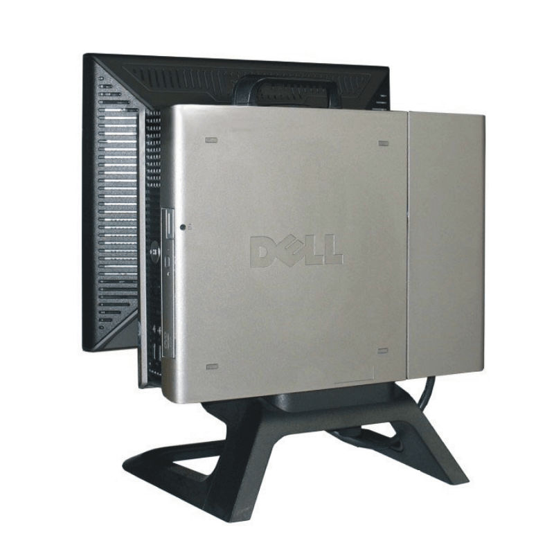 "USFF Intel Core 2 Duo E4600 2,4 GHz, 2 GB RAM, 80 GB HDD, bez mech., COA Windows XP PRO a 17"" LCD DELL 1708FP (4)"