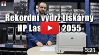 Rekordní výdrž tiskárny HP LaserJet 2055
